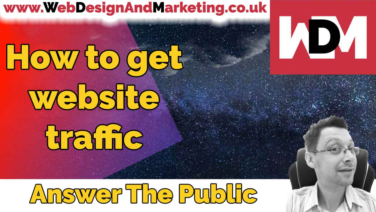 How To Get Website Traffic Using Answer The Public