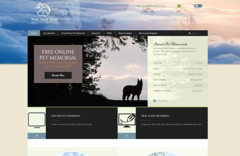 PetsHeldDear.com