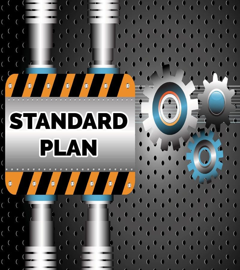 Pay Monthly Website Standard Plan